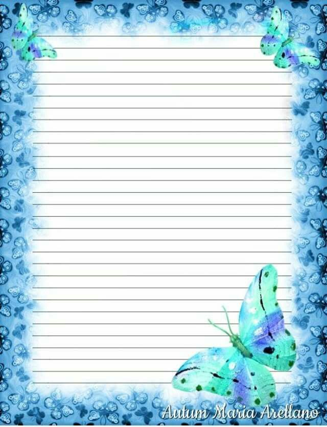 333 best Stationary images on Pinterest Letters, Note paper and - lined stationery paper