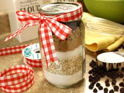 Oatmeal Chippers in a Jar---Great Gift