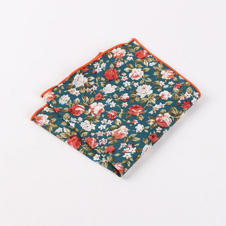 >> Click to Buy << Men Business Party Suit Handkerchiefs High Quality Wedding Handmade Of 100% Cotton Fashion Floral Gentlemen Elegant Style  #Affiliate