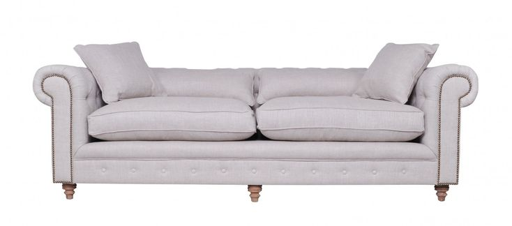 Cs145oa1ffl chesterfield sofa french linen front