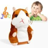 5CM Talking Hamster Toy.  Plush talking hamster that provides an interactive experience for your child. For age 3 and up, it makes a great educational friend during playtime.