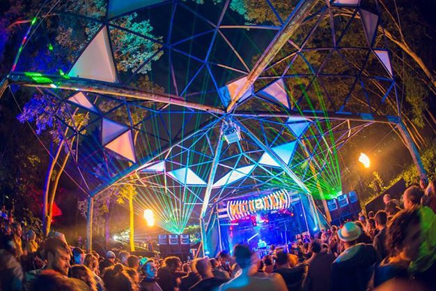 Noisily Stage at Noisily Festival - Production by Bassline Productions @psyminds17