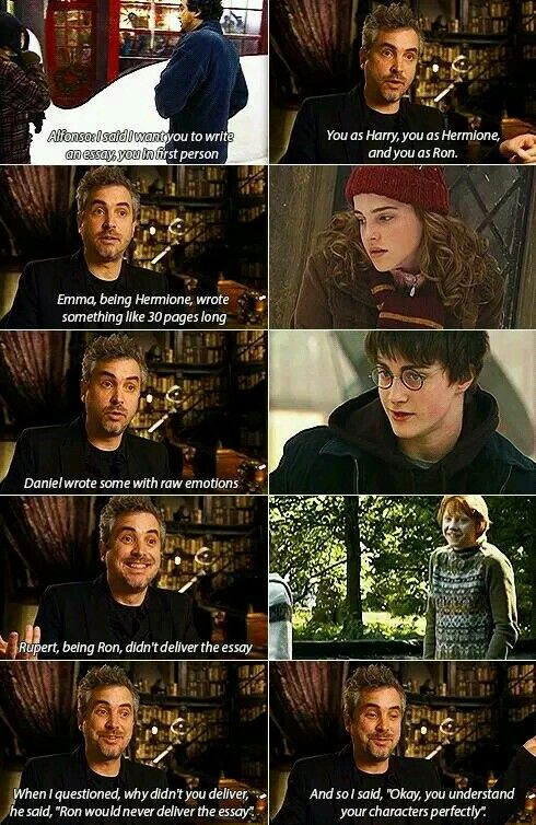 When Daniel, Rupert, and Emma were asked to write essays about their characters | Harry Potter