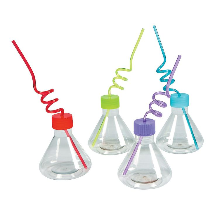 Science+Party+Cups+with+Straw+-+OrientalTrading.com $14