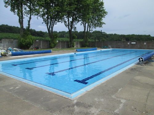 Helmsley outdoor pool in North Yorkshire