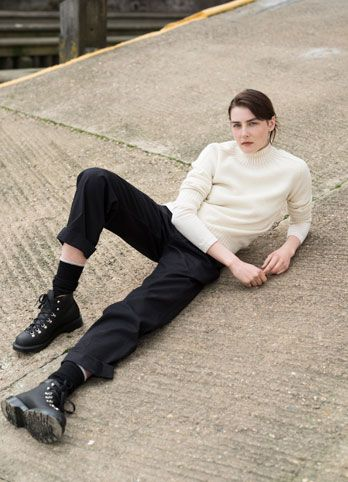 MHL AW16 Campaign Photographed at Poplar Rowing Club, Isle of Dogs, London.  Photography by Matt Hind