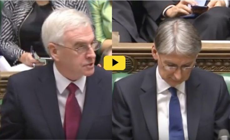 Chancellor Philip Hammond grinned as his party voted for a real terms pay cuts to public sector workers. But when faced with a furious John McDonnell on Wednesday, he struggled to find much to smile about.