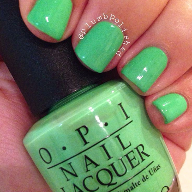 You Are So Outta Lime! by OPI | OPI | Green | Nail Polish