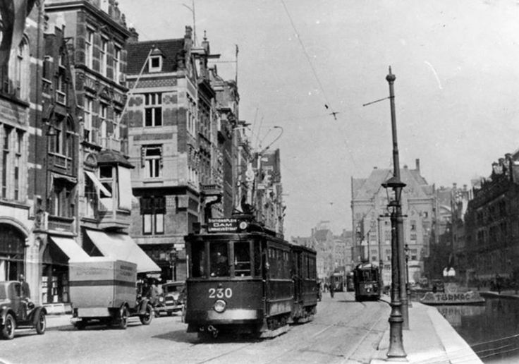 Rokin, Amsterdam 1929.