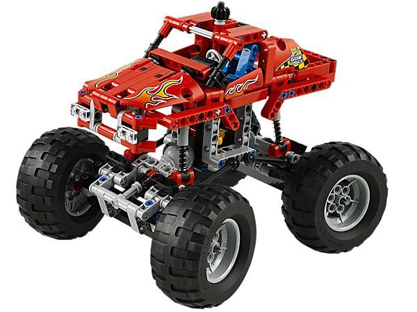 Construis une machine à écraser les voitures, le Monster Truck !
