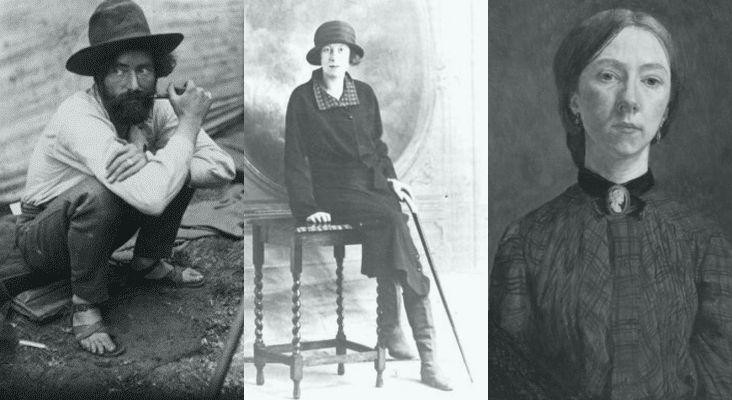https://strangeflowers.files.wordpress.com/2014/03/augustus-nina-gwen1.jpg Augustus John, Nina Hamnett, Gwen John.