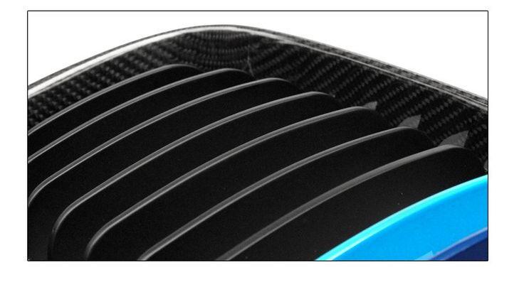 E81 E87 E82 E88 Carbon Fiber Racing Grill