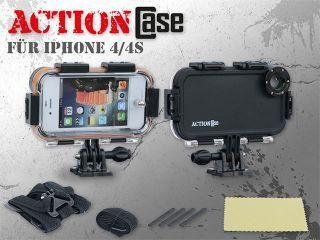 ActionCase ActionCam Case für iPhone 4 3m Wasserdicht  Preis 59,90
