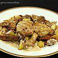 Foie gras poêlé à la périgourdine