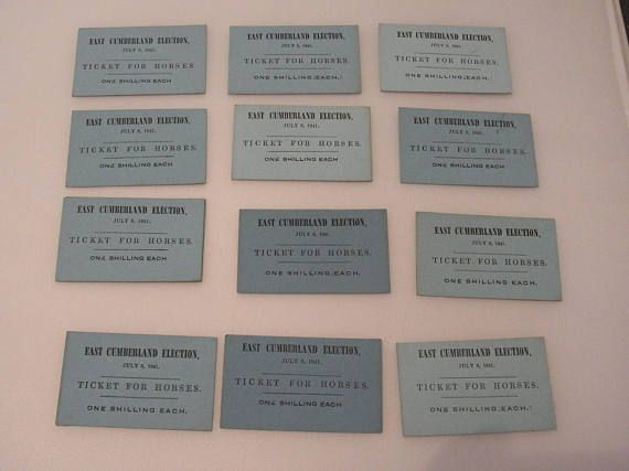 FREE SHIPPING UK Original Victorian Admission Ticket for