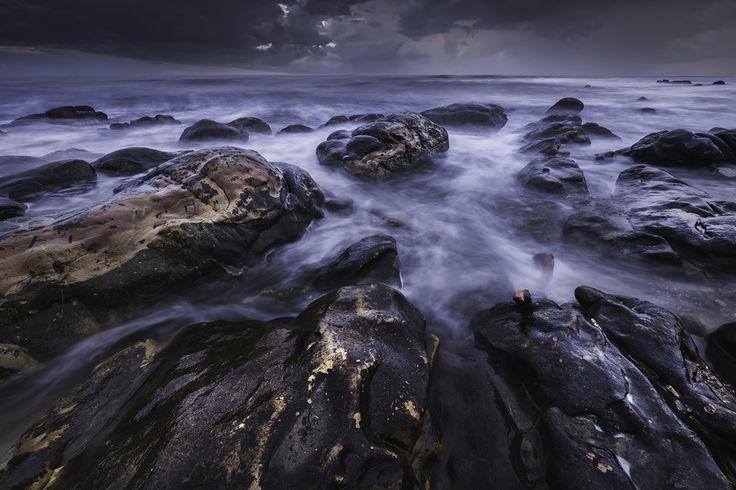 [フリー画像素材] 風景, 自然, 海岸 / ビーチ, 海, 岩 ID:201503242200