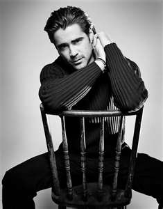 Colin Farrell -- especially as he is in The Recruit, for Troy McPherson in Hidden Heat