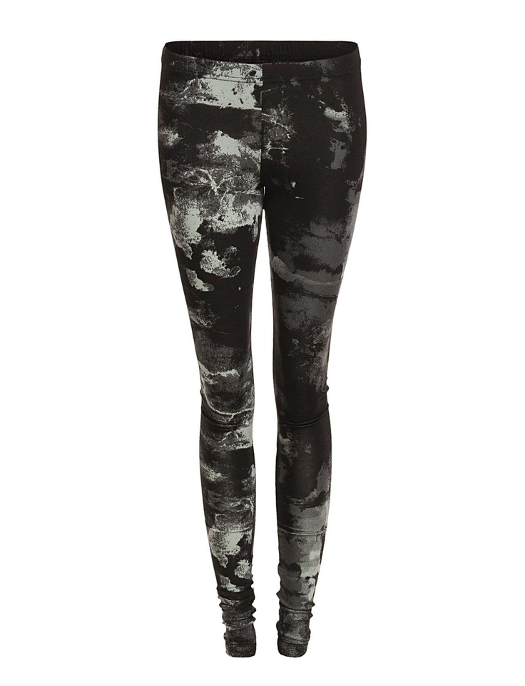 Pieces GAMMA ABSTRACT LONG LEGGING