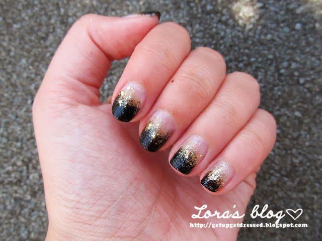Lora in Nailwonderland: nail club - csillámos körmök