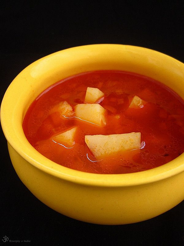 Recepty z Indie: Zemiakovo - rascova polievka