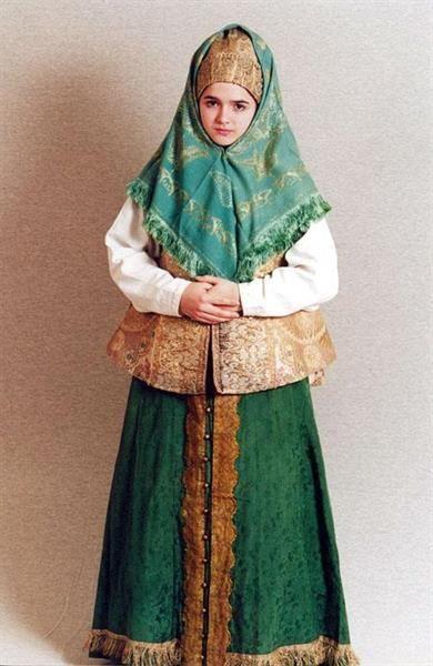 Древнерусская одежда и русский народный костюм 15