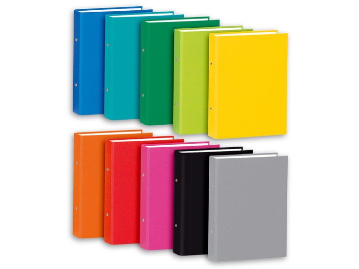 Ring Binders A4 and 17x25 in fancy colours