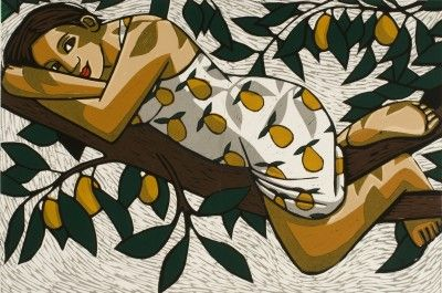 Goddess of the Pear Tree- Anita Klein