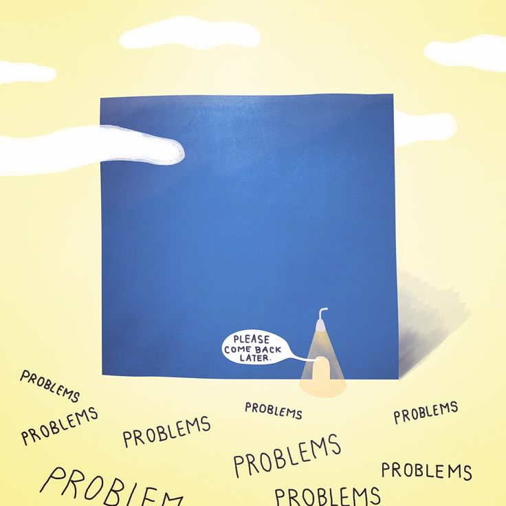 Problems? Come back later by Dolynda.cz