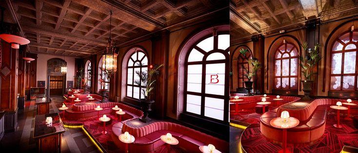 Το Bon Bon Bar, είναι κατακόκκινο, θεαματικό και βρίσκεται στον δεύτερο όροφο του Clarion Hotel Post στο Gothenburg της Σουηδίας.