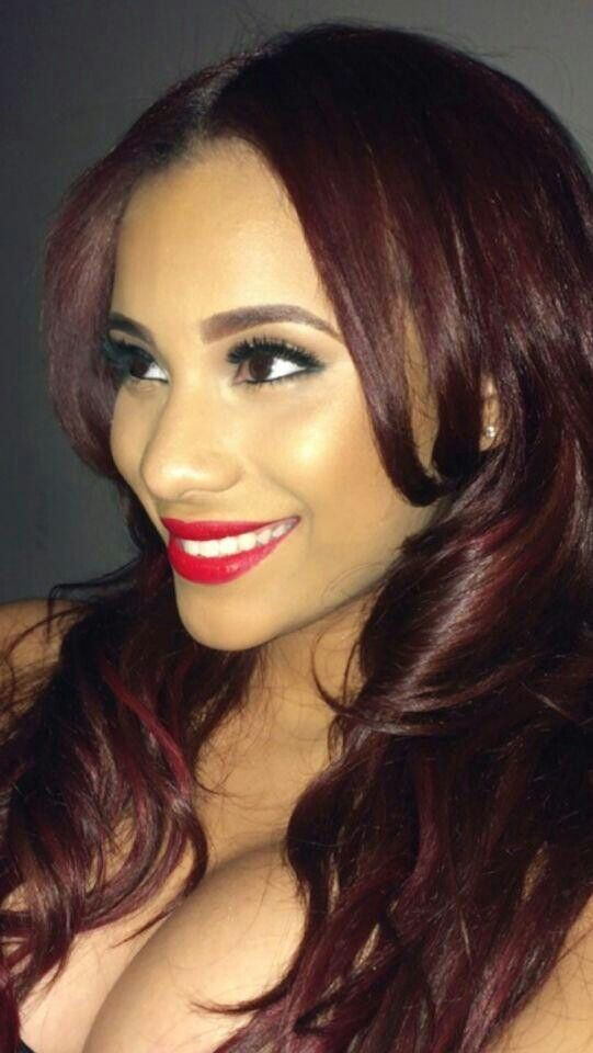 Cyn Santanna Red Hair   17 best images about cyn santana