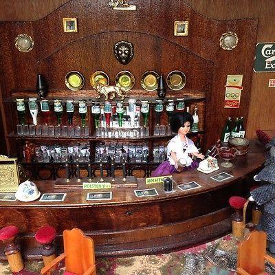 66 best images about miniature bar pub on pinterest miniature rooms dollhouse miniatures. Black Bedroom Furniture Sets. Home Design Ideas