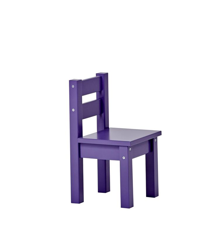 Classic Purple Children Chair by Hoppekids