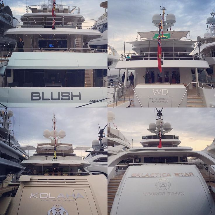 #PortHercule #serious #size, #money, #wealth and #power in the #port of #montecarlo during #f1 #weekend #2015. #yachts of this #girth and #length are extremely #humbling and #breathtaking at the same time. #blush #wd #kohala #galaticastar #yacht #dollar #euro #georgetown #douglas #stvincent #monaco #montecarlo #southoffrance #mediterranean #saltlife #ocean by tha_dollar_general from #Montecarlo #Monaco