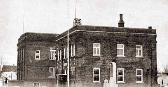 City Hall & Police Station 1922. I remember this as the police station never knew it was City Hall.