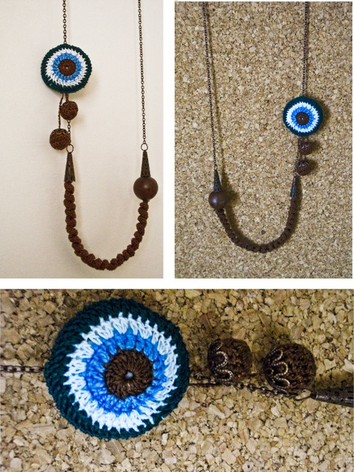 Evil Eye Necklace Punto