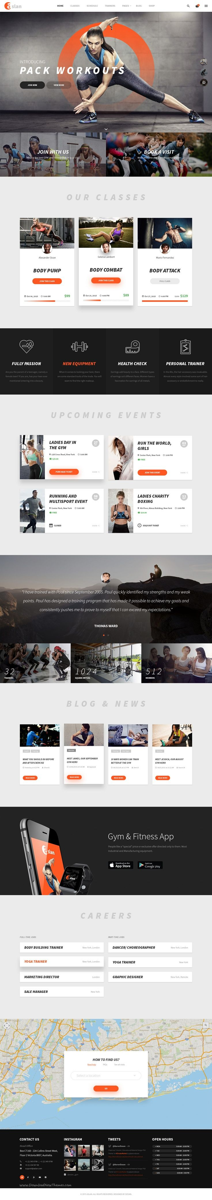 229 best Landing Page Theme images on Pinterest | Website designs ...