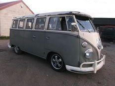 Volkswagen - Micro-Autocarro Exclusivo com 15 Janelas - 1962