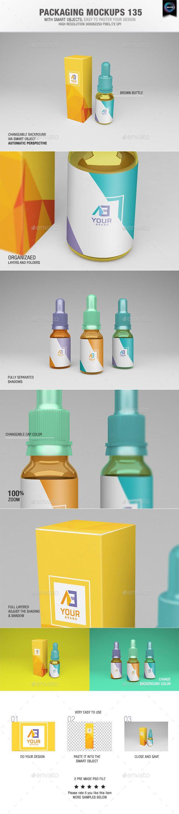 6 poster design photo mockups 57079 - Packaging Mock Ups 135
