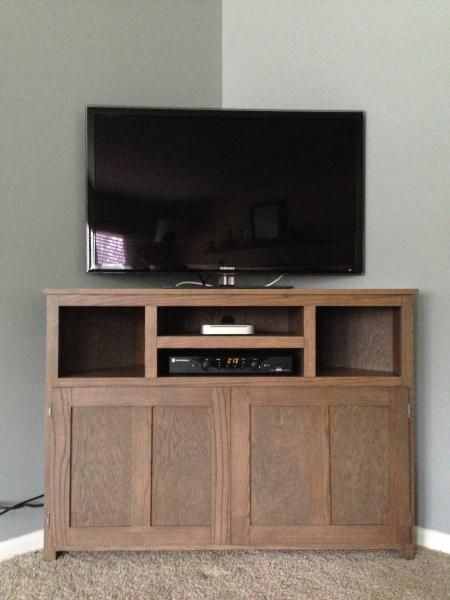 Corner Stand Designs : Plans build corner tv stand woodworking projects