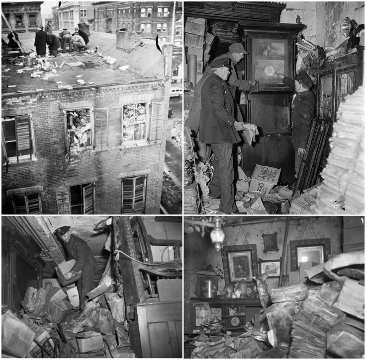 The Collyer Brothers: The Original Hoarders of the 1930s