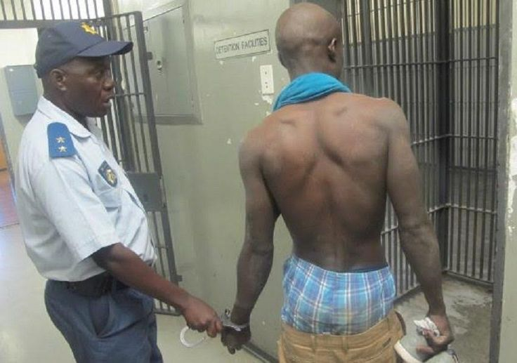 Photo: 23-year-old man arrested for raping his 58-year-old mother in South Africa