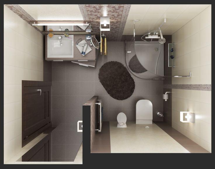 Дизайн ванной комнаты. Дизайн-студия ROMM. Симферополь || Разработка сайтов, веб дизайн, Графический дизайн, 3D визуализация, Дизайн интерьера, Дизайн среды