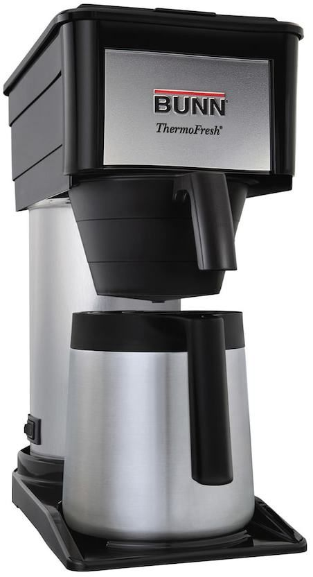 Bunn-O-Matic Velocity Brew® 10-Cup High Altitude Thermal Carafe Coffee Brewer