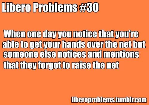 Libero Problems - definitely was an outside but this is funny!