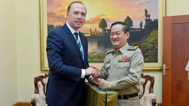 Blow to Australia's $55 million Cambodia deal as two more refugees quit  Read more: http://www.smh.com.au/federal-politics/political-news/blow-to-australias-  ...
