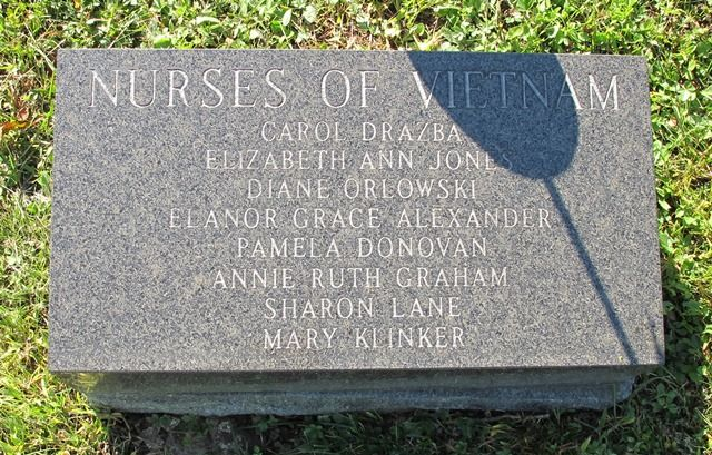 The 8 Women were killed in the Vietnam War. The memorial is located inside historic Lasdon Park, Route 35, Somers, New York.