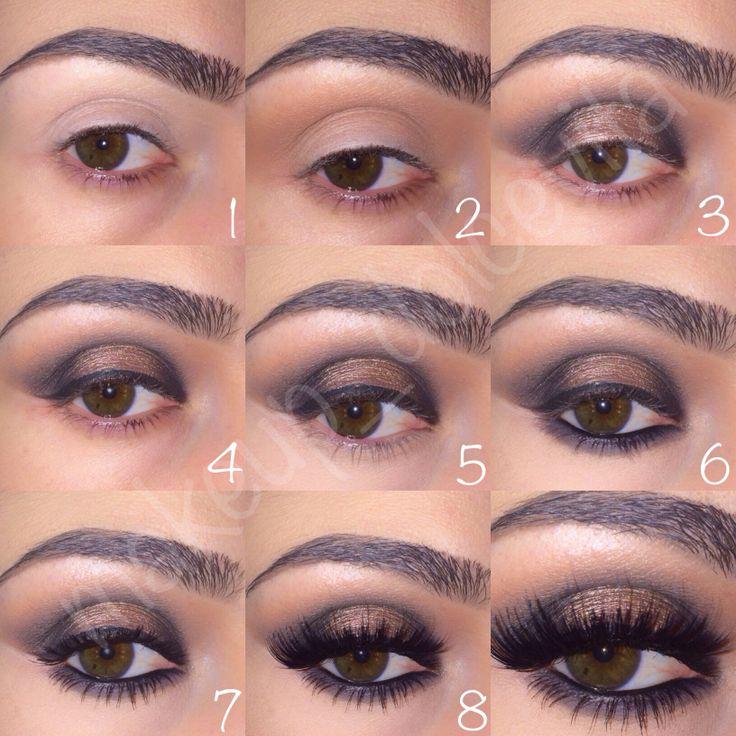 Mac shadows and Makeup Geek loose pigment