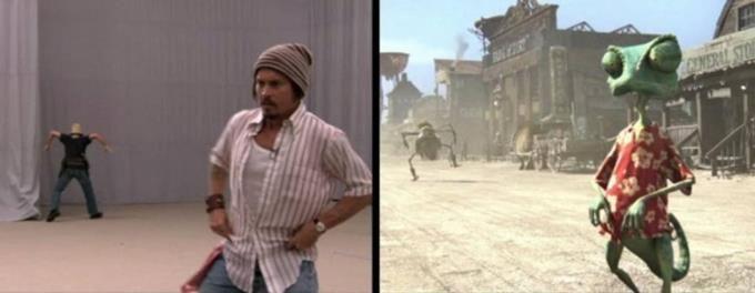 28 scènes de films… sans leurs effets spéciaux. Attention, vous allez être surpris ! Rango