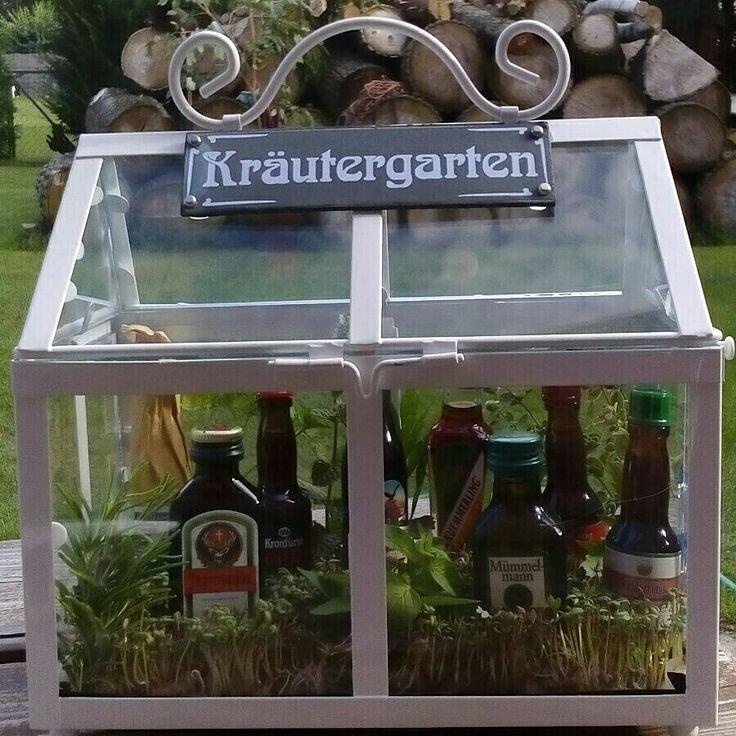 """Wir brauchten 2 Männergeschenke - ich habe einen Biergarten """"to go"""" und einen """"Kräutergarten"""" gewerkelt - beides kam bei den Beschenkten s..."""