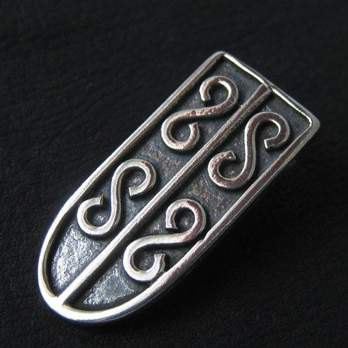 Silver starp end from medieval Poland by Sulik on Etsy